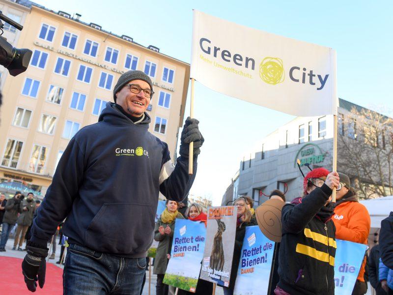 Auftaktveranstaltung für das Volksbegehren Artenvielfalt in München am 31.01.2019 - Green City e.V. Bildnachweis: © Tobias Hase